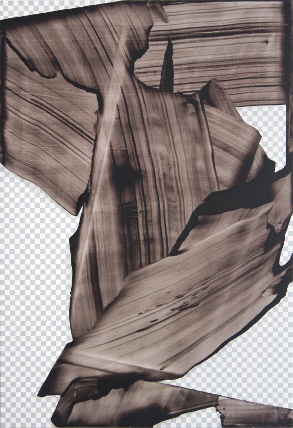 Mateusz Piestrak,Transparent,2015, acrylic on canvas,160x110cm